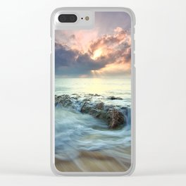 Swept Clear iPhone Case