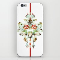 moth iPhone & iPod Skins featuring Moth by Tina Carroll
