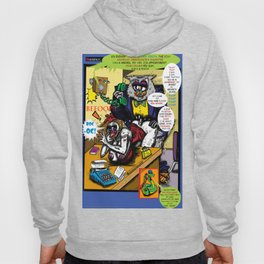 Bird of Steel Comix - Page #5 of 8 (Society 6 POP-ART COLLECTION SERIES)  Hoody
