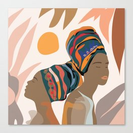 Women with the Turbans Canvas Print