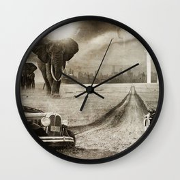 post Frisco Wall Clock