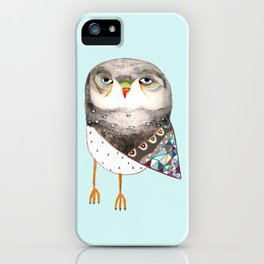Owl by Ashley Percival iPhone Case