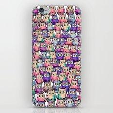 owl-12 iPhone & iPod Skin