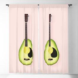 AVOCADO GUITAR Blackout Curtain