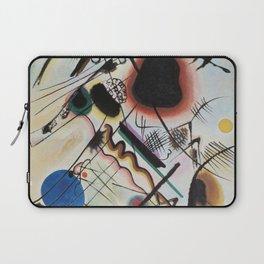 Wassily Kandinsky - Black spot Laptop Sleeve