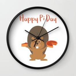 Delicious Pi Day Wall Clock