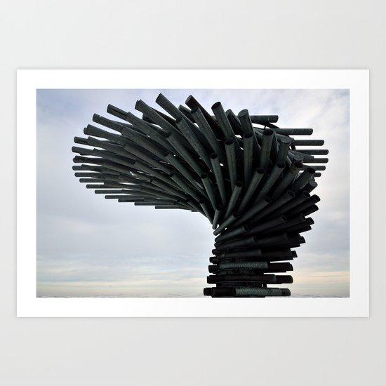 The Singing Ringing Tree Art Print