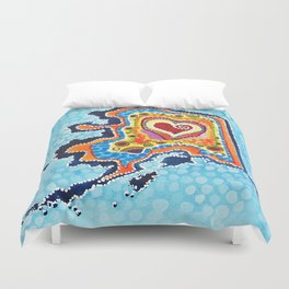 Love Me Some Alaska Duvet Cover