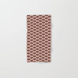 Coffee Bean Pattern Hand & Bath Towel