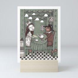 When it Rains Outside Mini Art Print
