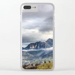 The Picos de Europa Clear iPhone Case