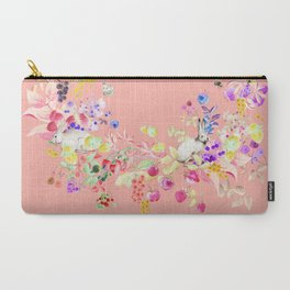 Soft bunnies pink Carry-All Pouch