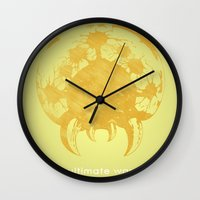 metroid Wall Clocks featuring Metroid Hero by Head Glitch