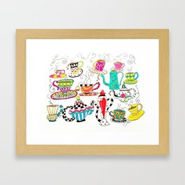 Coffee or Tea? Framed Art Print