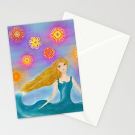 Sea and Sun Stationery Cards