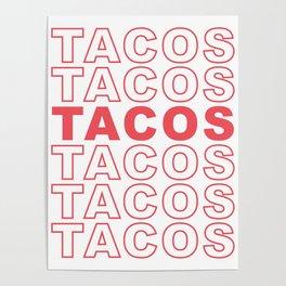 Taco Taco Poster