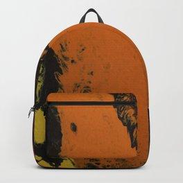 Dirty Paint Pour 5, Fluid Art Reproduction Backpack