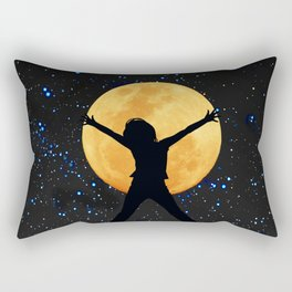 Super moon in November 2016 Rectangular Pillow