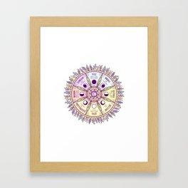 Wheel of the Year Framed Art Print