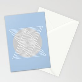 Everything belongs to geometry #7 Stationery Cards