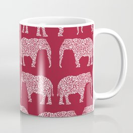 Alabama bama crimson tide elephant state college university pattern footabll Coffee Mug