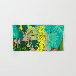 Maximalist Boho Jungle Hand & Bath Towel