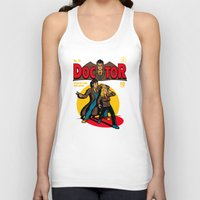 comic Tank Tops featuring Doctor Comic by harebrained