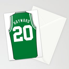 Gordon Hayward Jersey Stationery Cards