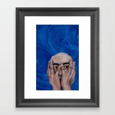 altruistic yet egoistic Framed Art Print