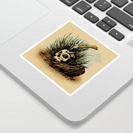 Prepare your hearts for Death's cold hand! Sticker