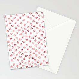 pupupu pink madness pattern Stationery Cards