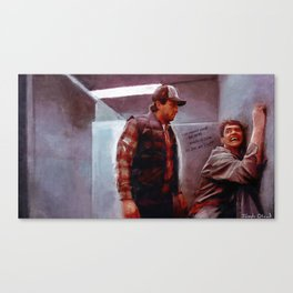 Seabass And Manly Love - Dumb And Dumber Canvas Print