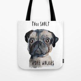 Demanding Doggie Tote Bag