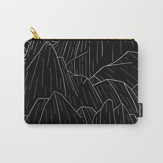 The dark cliffs Carry-All Pouch