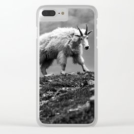 MOUTAIN GOATS // 3 Clear iPhone Case