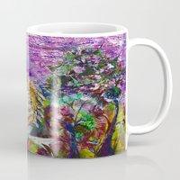 unicorn Mugs featuring Unicorn by CrismanArt