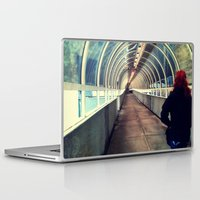 onward Laptop & iPad Skins featuring Onward Into The Tunnel Forbidden  by AJ Calhoun