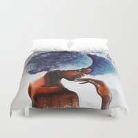 waterfall Duvet Covers featuring Waterfall  by Sebastian Wandl