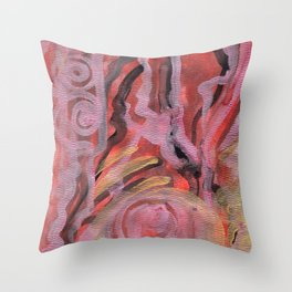 Muladhara Throw Pillow
