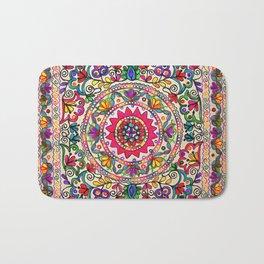 Elegant Flower Bath Mat
