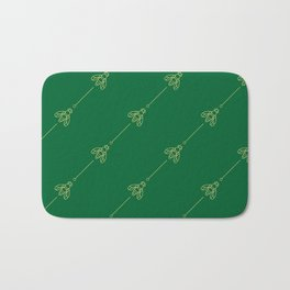 Bees & needles Bath Mat