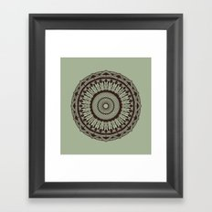 Mandala 7 Framed Art Print