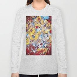 Sun flower fields (2016) Long Sleeve T-shirt