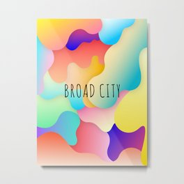 broad city poster Metal Print