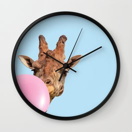 candy zoo Wall Clock