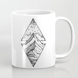 The mountain and the stars Coffee Mug