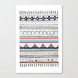 Aztec-Tribal  Canvas Print