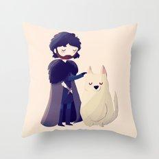 Night Gathers Throw Pillow