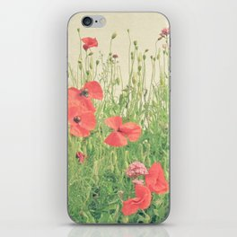 Sea of Red iPhone Skin
