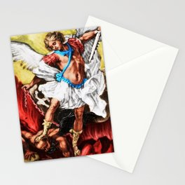 """""""Archangel Mondays"""" Painting by Jeanpaul Ferro Stationery Cards"""